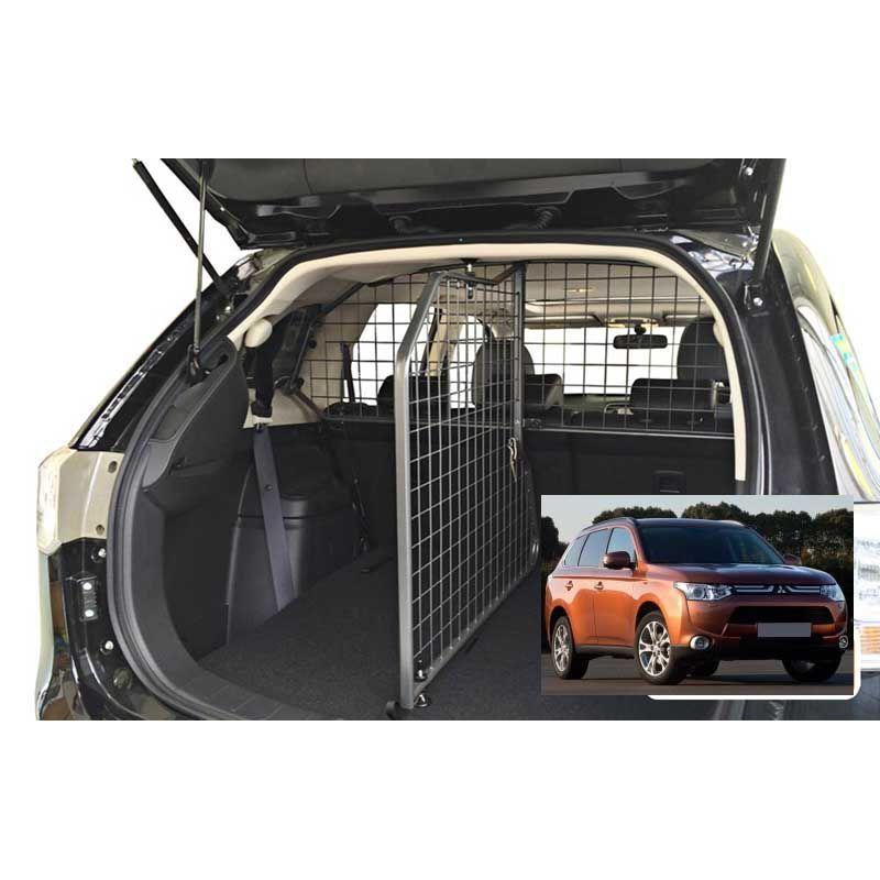 grille auto pour chien mitsubishi outlander 3 7 places de 01 2013 grille coffre. Black Bedroom Furniture Sets. Home Design Ideas