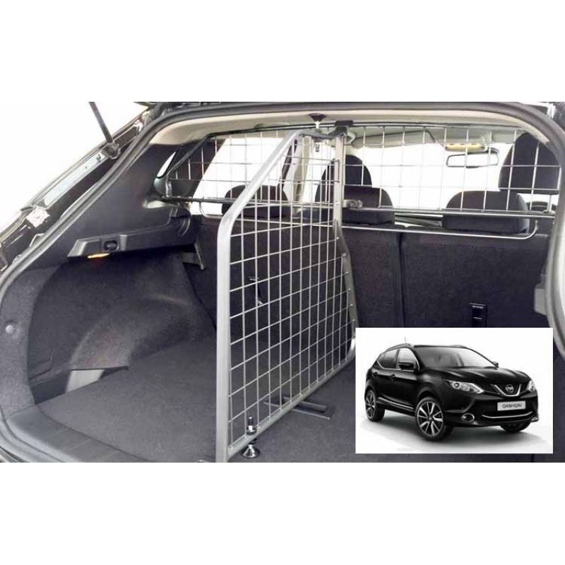 grille auto pour chien nissan qashqai j11 de 01 2014 avec toit panoramique grille. Black Bedroom Furniture Sets. Home Design Ideas