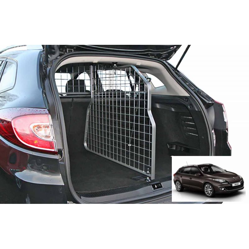 grille auto pour chien renault megane 3 estate break de 11 2008 05 2016 grille coffre. Black Bedroom Furniture Sets. Home Design Ideas