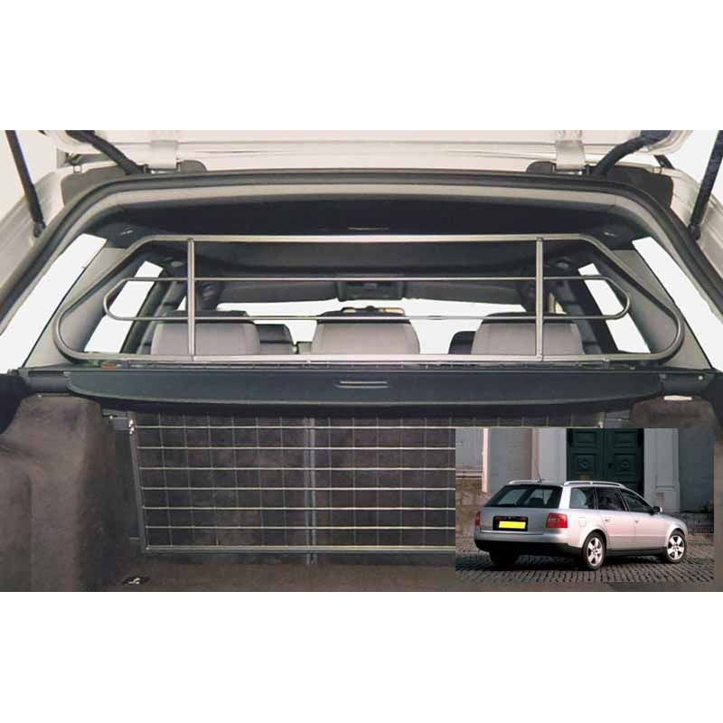 grille auto pour chien audi a6 avant break de 06 1997 05 2004 grille coffre voiture a6. Black Bedroom Furniture Sets. Home Design Ideas