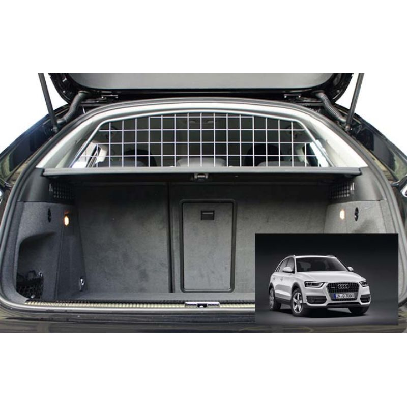 grille auto pour chien audi q3 grille coffre voiture q3. Black Bedroom Furniture Sets. Home Design Ideas