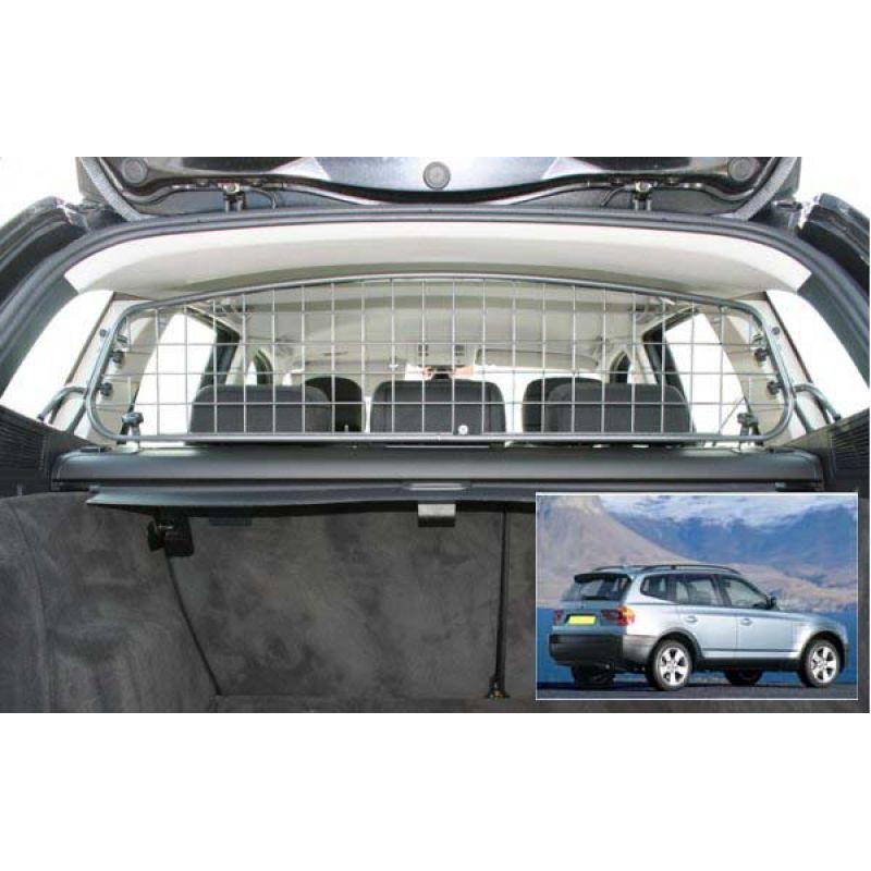 grille auto pour chien bmw x3 e83 de 01 2004 10 2010 grille coffre voiture x3 e83 de. Black Bedroom Furniture Sets. Home Design Ideas
