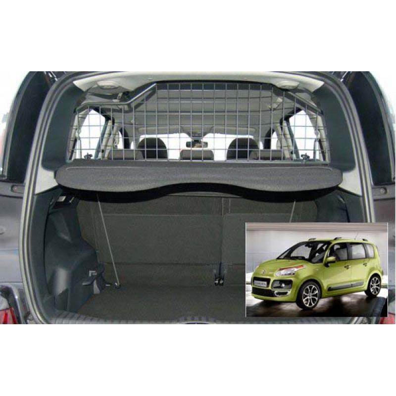 Grille auto pour chien citroen c3 picasso grille coffre voiture c3 picasso - Grille pour chien en voiture ...