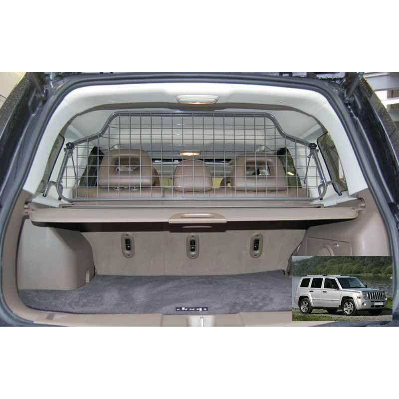Grille auto pour chien jeep patriot grille coffre for Interieur de voiture sur mesure