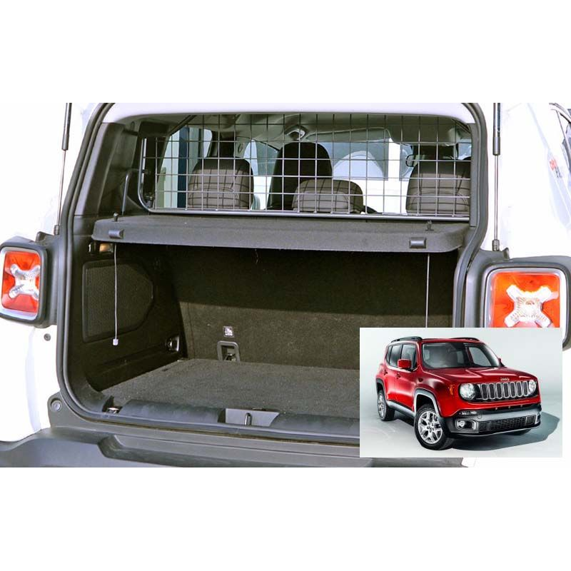 grille auto pour chien jeep renegade avec toit ouvrant d 39 origine. Black Bedroom Furniture Sets. Home Design Ideas