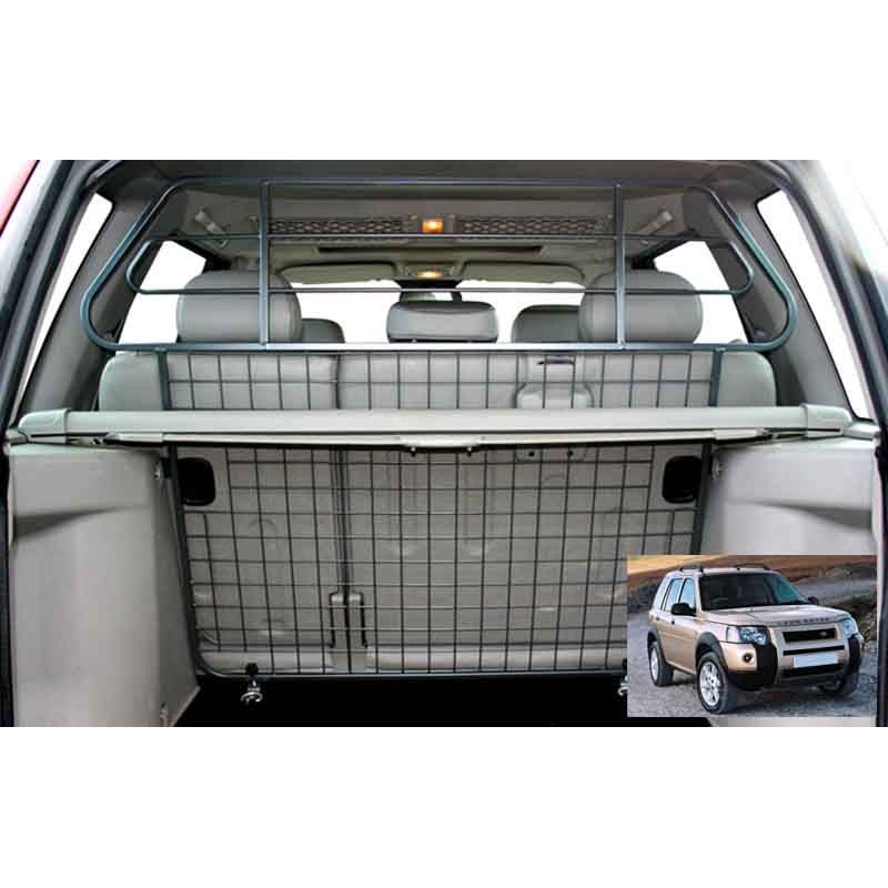 grille auto pour chien landrover freelander 1 phase2 de 09 2000 11 2006 grille coffre. Black Bedroom Furniture Sets. Home Design Ideas