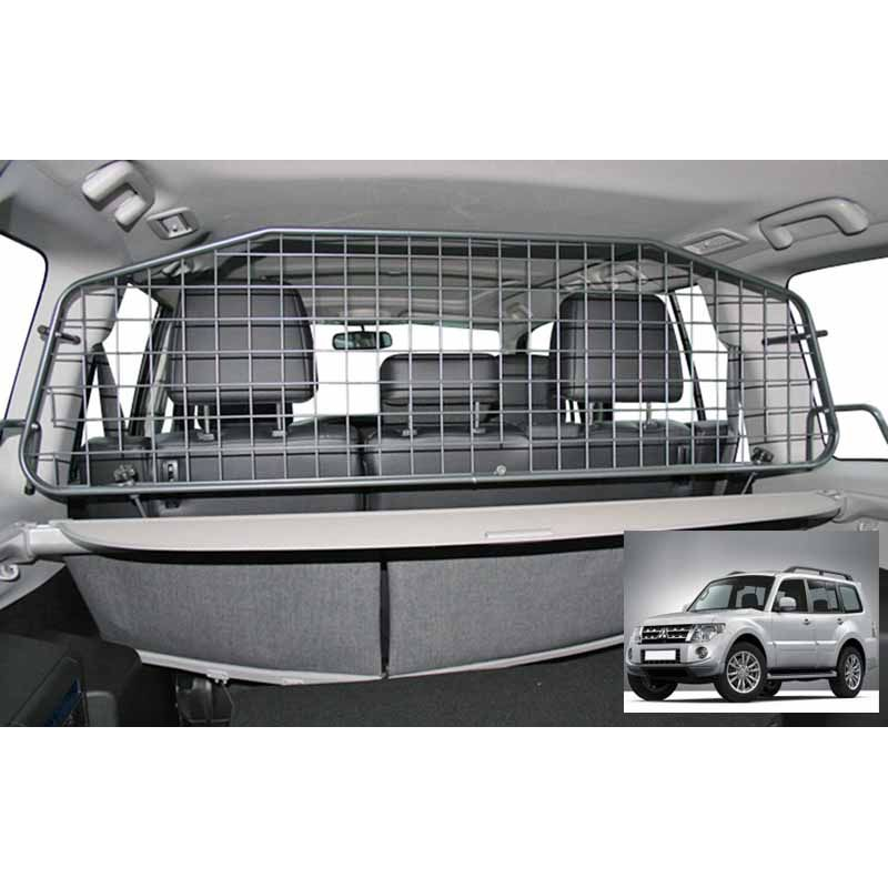 grille auto pour chien mitsubishi pajero 4 court de 01 2007 grille coffre voiture. Black Bedroom Furniture Sets. Home Design Ideas