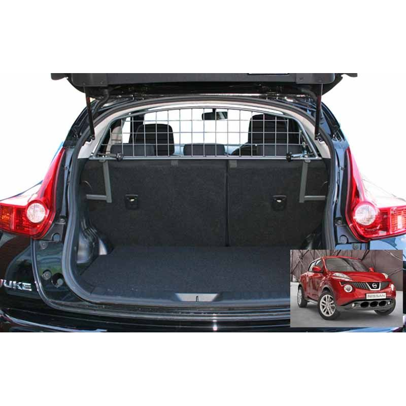 grille auto pour chien nissan juke grille coffre voiture juke. Black Bedroom Furniture Sets. Home Design Ideas