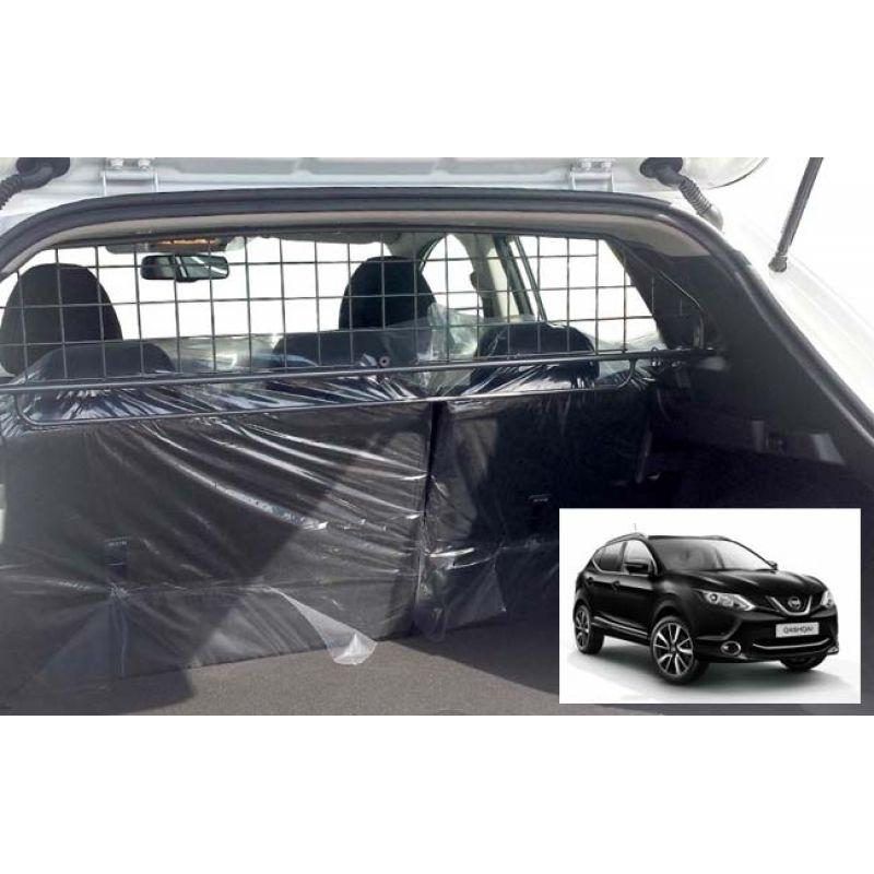 grille auto pour chien nissan qashqai j11 de 01 2014 sans toit panoramique grille. Black Bedroom Furniture Sets. Home Design Ideas
