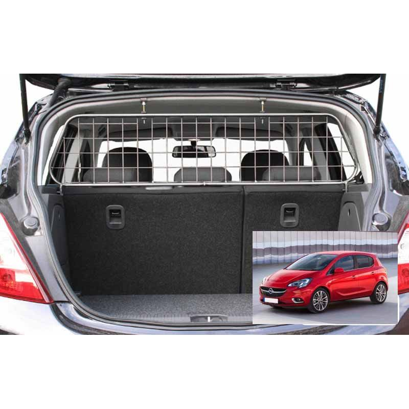 grille auto pour chien opel corsa e de 02 2015 5 portes grille coffre voiture corsa. Black Bedroom Furniture Sets. Home Design Ideas