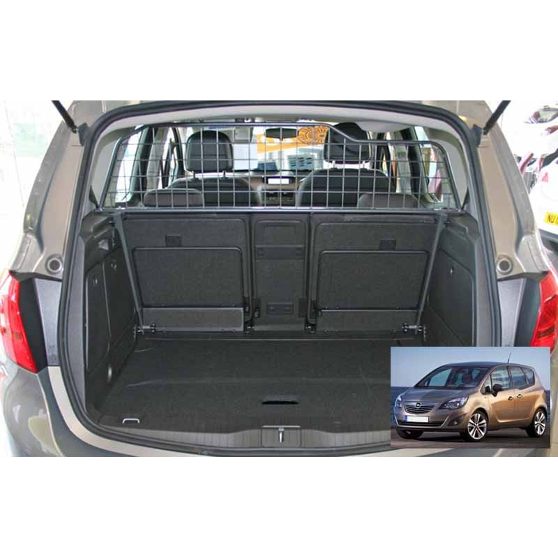 grille auto pour chien opel meriva b de 09 2010 grille coffre voiture meriva b de 09. Black Bedroom Furniture Sets. Home Design Ideas