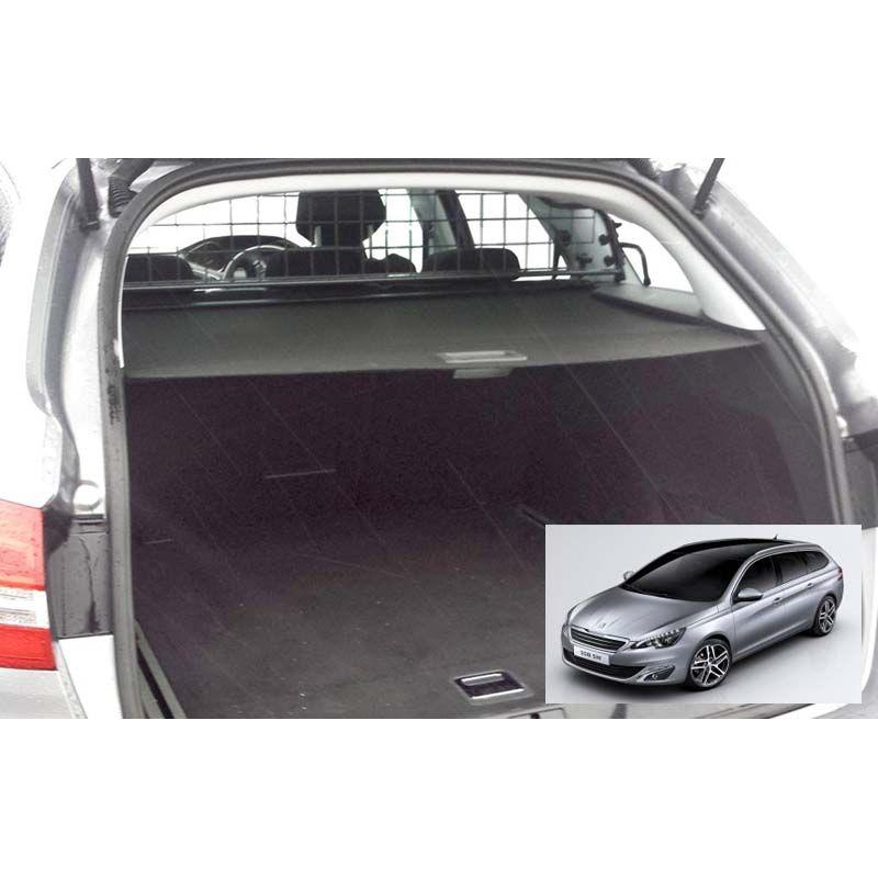 grille auto pour chien peugeot 308 sw 2 de 05 2014 avec toit panoramique grille. Black Bedroom Furniture Sets. Home Design Ideas