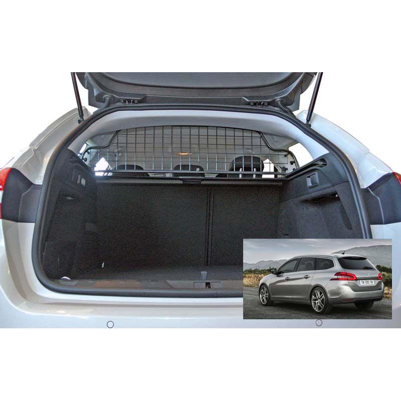 grille auto pour chien peugeot 308 sw 2 de 05 2014 sans toit ouvrant d 39 origine. Black Bedroom Furniture Sets. Home Design Ideas