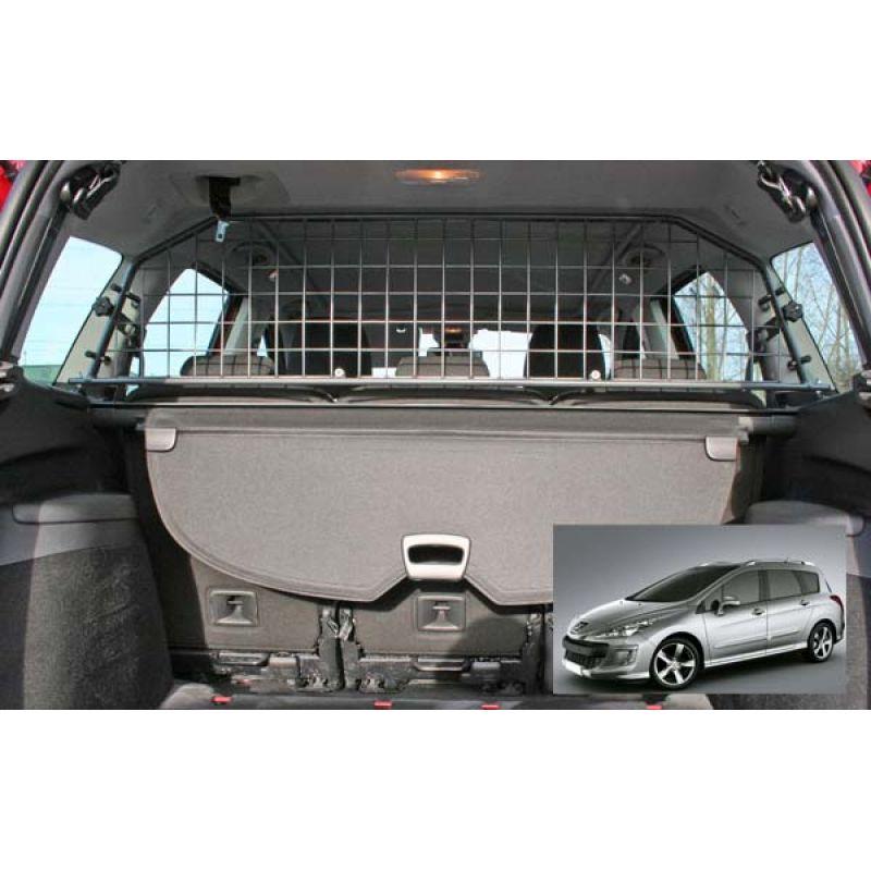 grille auto pour chien peugeot 308 sw 1 de 05 2008 04 2014 avec toit ouvrant d 39 origine. Black Bedroom Furniture Sets. Home Design Ideas