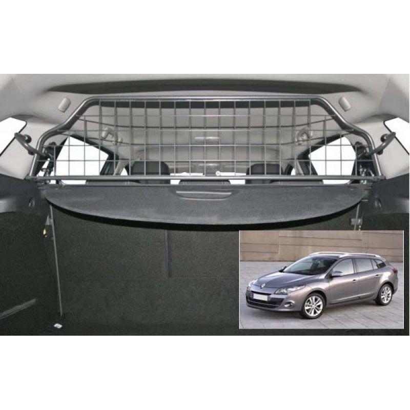 grille auto pour chien renault megane 3 estate break de 11 2008 05 2016 grille coffre. Black Bedroom Furniture Sets. Home Design Ideas