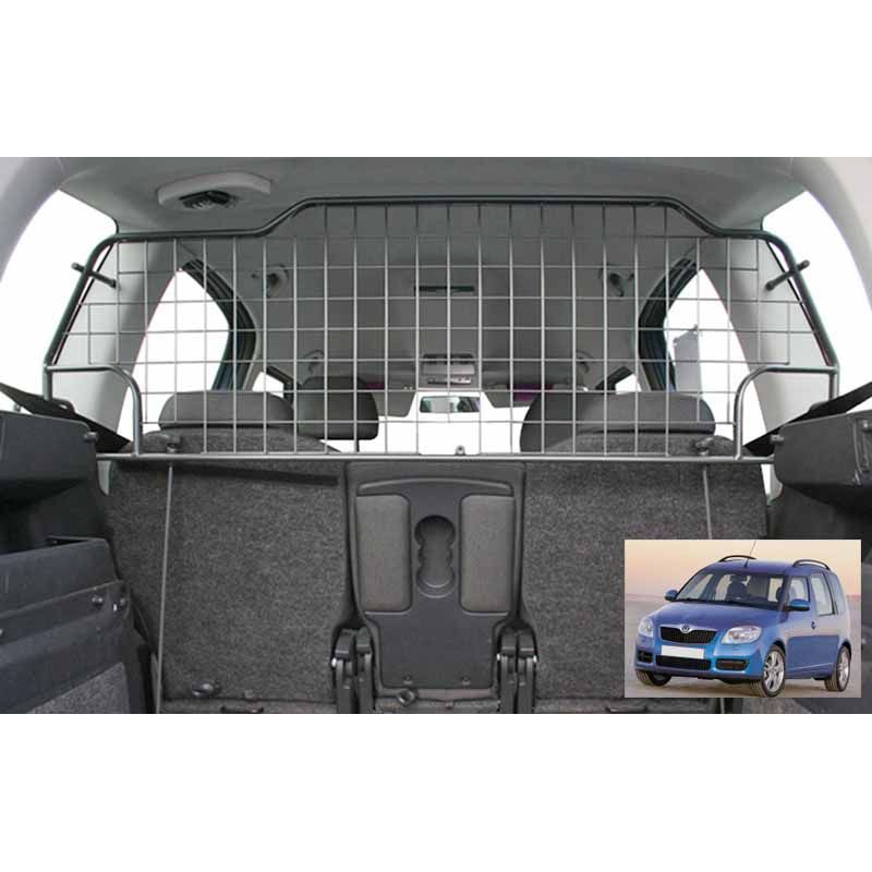 Grille auto pour chien skoda roomster grille coffre voiture roomster - Grille pour chien en voiture ...