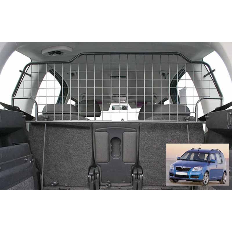Grille auto pour chien skoda roomster grille coffre for Interieur de voiture sur mesure