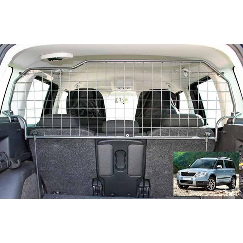 grille auto pour chien skoda yeti grille coffre voiture yeti. Black Bedroom Furniture Sets. Home Design Ideas