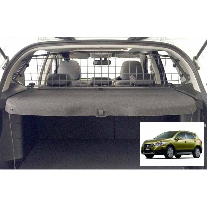 grille auto pour chien suzuki sx4 s cross 09 2013 grille coffre voiture sx4 s cross 09. Black Bedroom Furniture Sets. Home Design Ideas