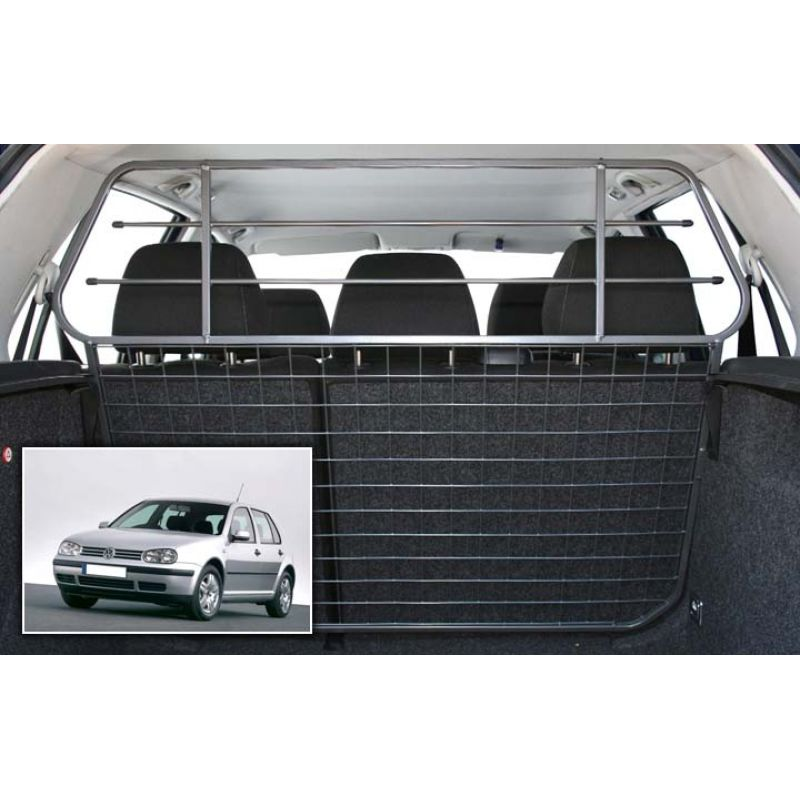 grille auto pour chien volkswagen golf 4 de 01 1998 09 2003 grille coffre voiture golf 4. Black Bedroom Furniture Sets. Home Design Ideas