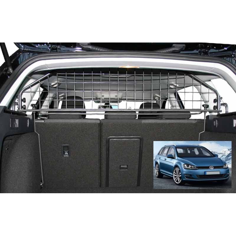 grille auto pour chien volkswagen golf 7 sw break de 09 2013 avec toit ouvrant. Black Bedroom Furniture Sets. Home Design Ideas