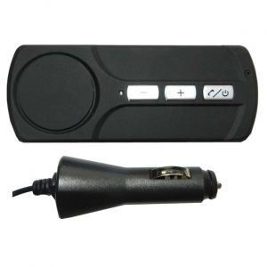 Kit mains libres auto Bluetooth chargeur prise allume-cigare 12V