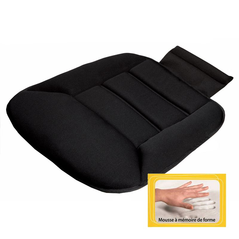 accessoire confort auto coussin assise de si ge de voiture. Black Bedroom Furniture Sets. Home Design Ideas