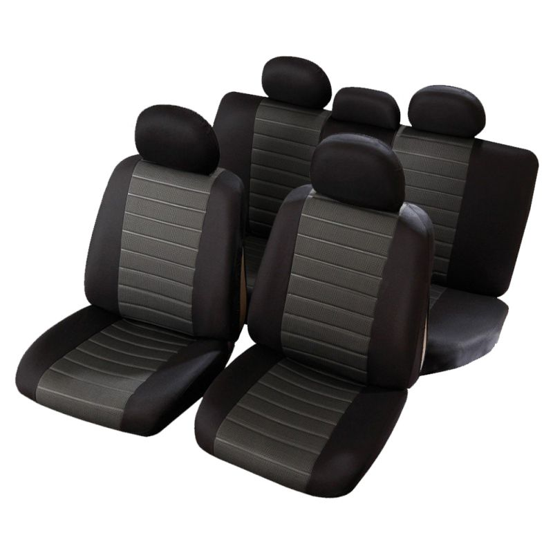 housses de si ges auto pour voiture avec banquette arri re. Black Bedroom Furniture Sets. Home Design Ideas