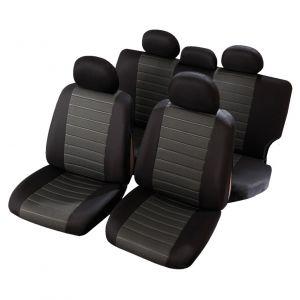 housses si ge auto taille universelle sp ciale 4x4 et suv verone noir. Black Bedroom Furniture Sets. Home Design Ideas