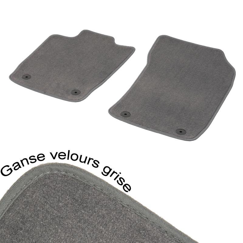 tapis auto avant range rover 3 aspect velours gris pr sident. Black Bedroom Furniture Sets. Home Design Ideas