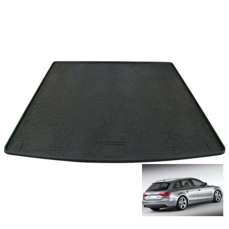 tapis de coffre auto sur mesure caoutchouc audi a4 avant break de 01 2008 12 2015. Black Bedroom Furniture Sets. Home Design Ideas