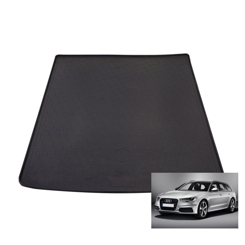 tapis de coffre auto sur mesure caoutchouc audi a6 avant break de 06 2011. Black Bedroom Furniture Sets. Home Design Ideas
