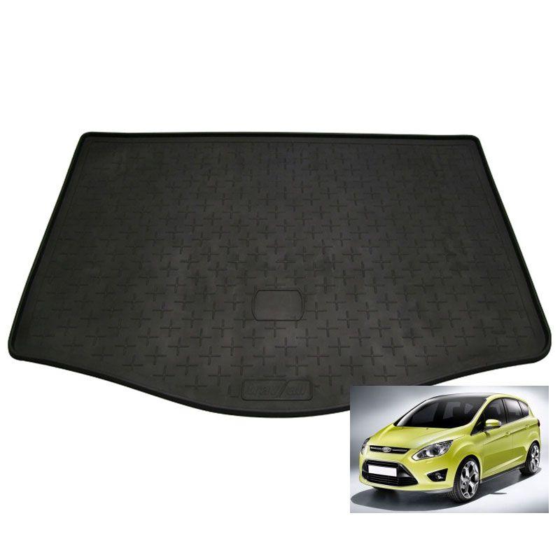 tapis de coffre auto sur mesure caoutchouc ford c max ii de 10 2010. Black Bedroom Furniture Sets. Home Design Ideas