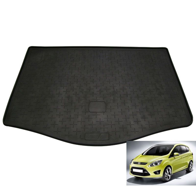 tapis de coffre auto sur mesure caoutchouc ford c max ii grand 5pl de 10 2010. Black Bedroom Furniture Sets. Home Design Ideas