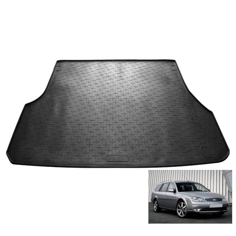 tapis de coffre auto sur mesure caoutchouc ford mondeo sw 2 break de 10 2000 05 2007. Black Bedroom Furniture Sets. Home Design Ideas