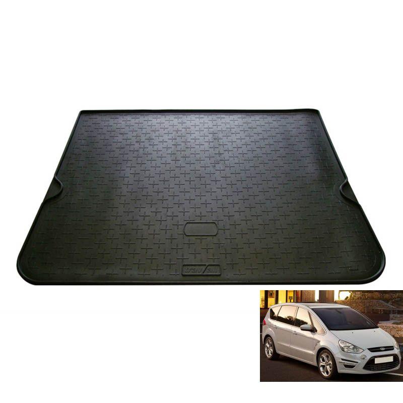 tapis de coffre auto sur mesure caoutchouc ford s max ii 7pl de 12 2009 224 12 2015