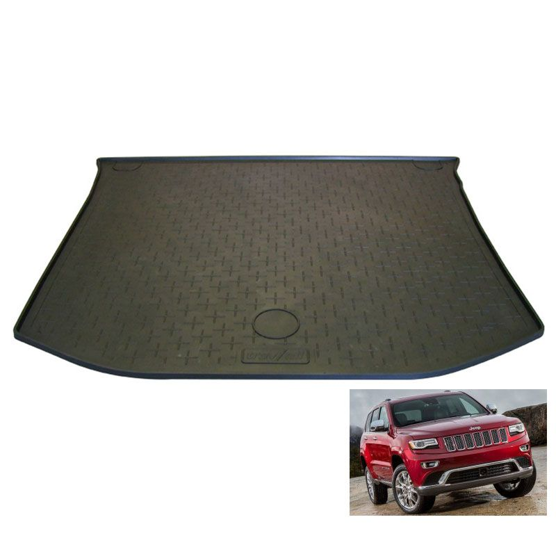 tapis de coffre auto sur mesure caoutchouc jeep grand cherokee 5 de 07 2013. Black Bedroom Furniture Sets. Home Design Ideas