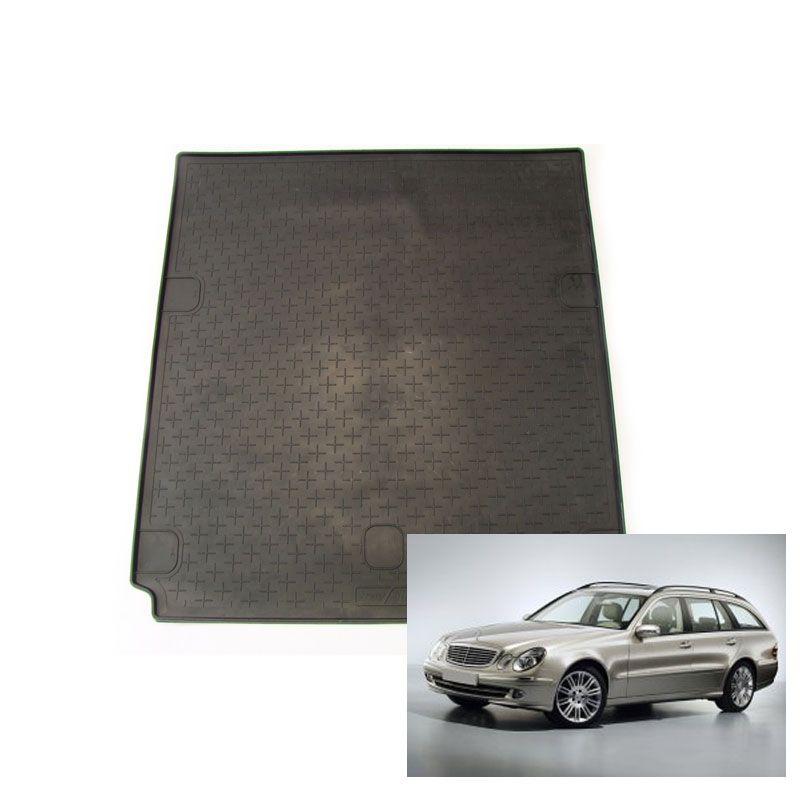 tapis de coffre auto sur mesure caoutchouc mercedes classe e break s211 de 03 2002 02 2009. Black Bedroom Furniture Sets. Home Design Ideas