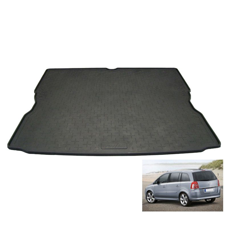 tapis de coffre auto sur mesure caoutchouc opel zafira b phase2 5places de 09 2008. Black Bedroom Furniture Sets. Home Design Ideas