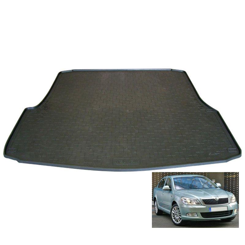 tapis de coffre auto sur mesure caoutchouc skoda octavia 2. Black Bedroom Furniture Sets. Home Design Ideas