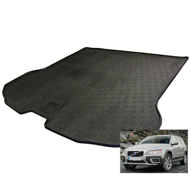 tapis de coffre auto sur mesure caoutchouc volvo xc70 2 de 12 2007. Black Bedroom Furniture Sets. Home Design Ideas